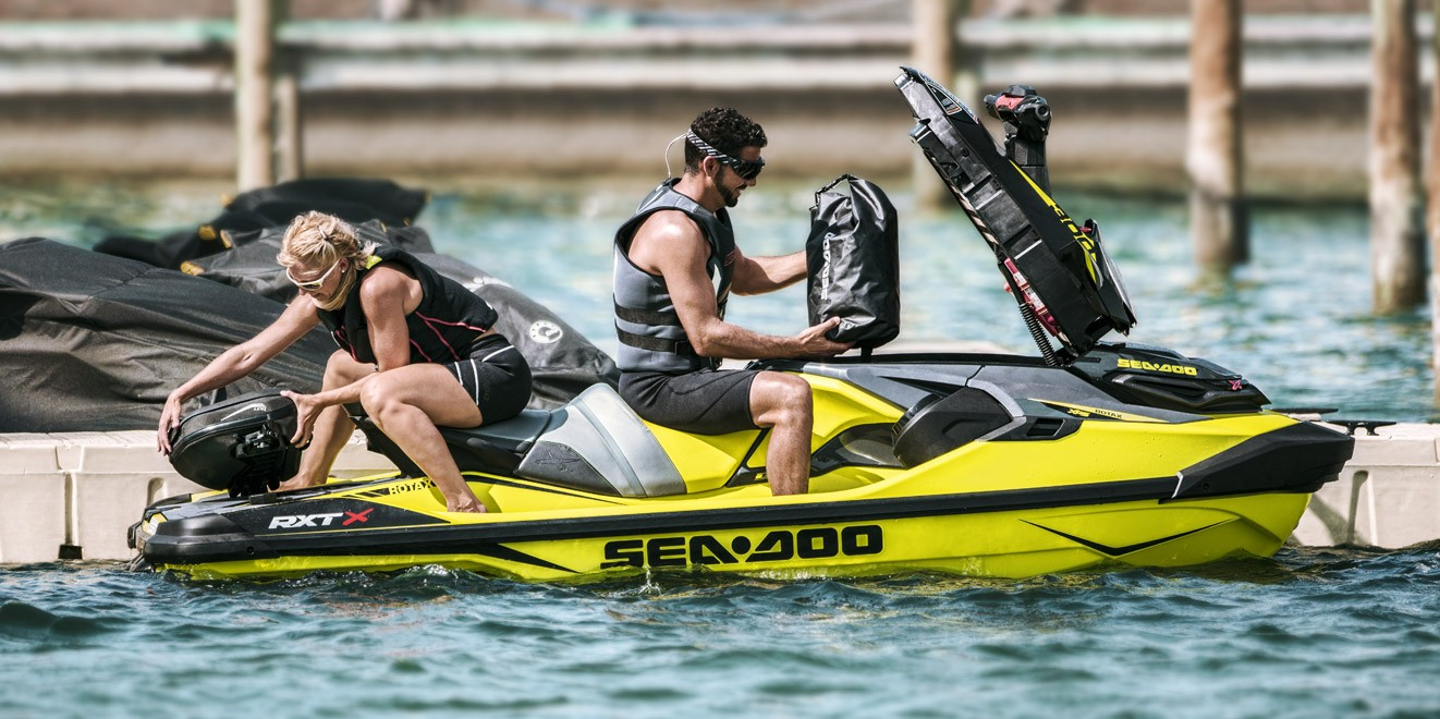 2018 Sea-Doo RXT-X 300 IBR in Wilkes Barre, Pennsylvania