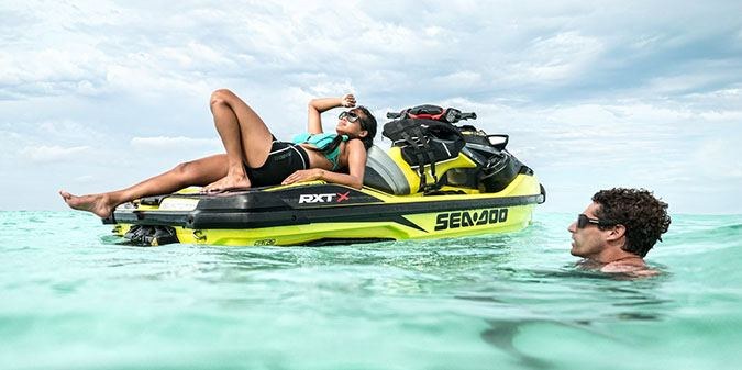 2018 Sea-Doo RXT-X 300 IBR in Adams, Massachusetts