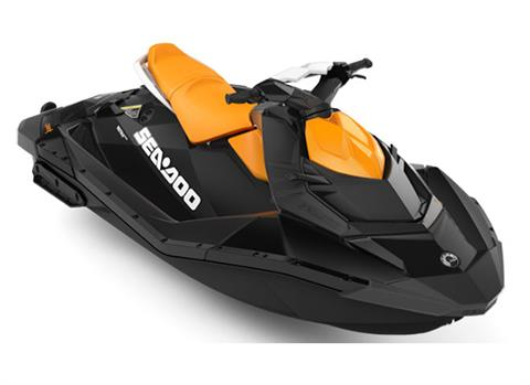 2018 Sea-Doo SPARK 3up 900 H.O. ACE iBR & Convenience Package Plus in Presque Isle, Maine
