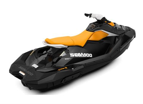 2018 Sea-Doo SPARK 3up 900 H.O. ACE iBR & Convenience Package Plus in Island Park, Idaho