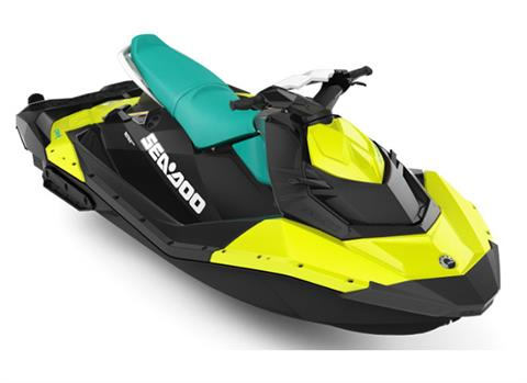 2018 Sea-Doo SPARK 3up 900 H.O. ACE iBR & Convenience Package Plus in Lakeport, California
