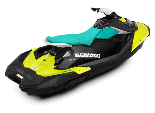 2018 Sea-Doo SPARK 3up 900 H.O. ACE iBR & Convenience Package Plus in Brenham, Texas