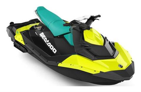 2018 Sea-Doo SPARK 3up 900 H.O. ACE iBR & Convenience Package Plus in New York, New York