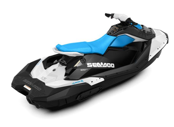 2018 Sea-Doo SPARK 3up 900 H.O. ACE iBR & Convenience Package Plus in Gridley, California