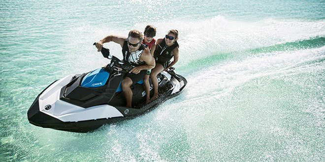 2018 Sea-Doo SPARK 3up 900 H.O. ACE iBR & Convenience Package Plus in Victorville, California