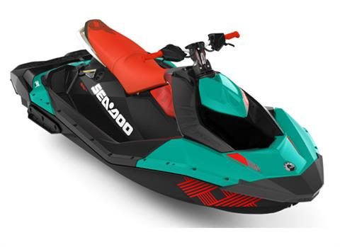 2018 Sea-Doo Spark 3up Trixx iBR in Danbury, Connecticut