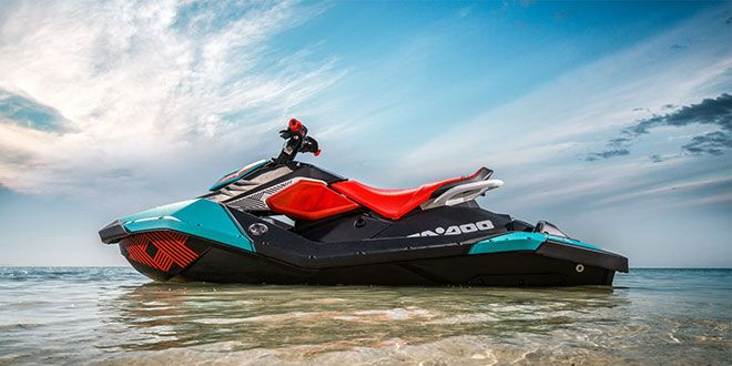 2018 Sea-Doo Spark 3up Trixx iBR in Irvine, California