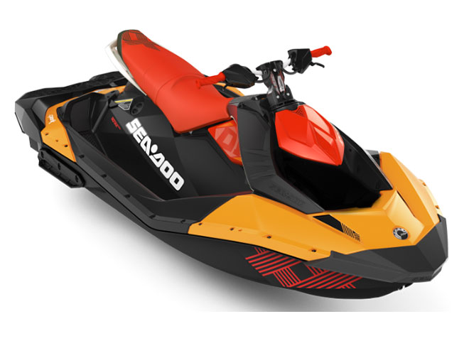 2018 Sea-Doo Spark 3up Trixx iBR in San Jose, California