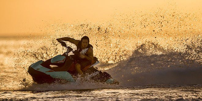 2018 Sea-Doo Spark 3up Trixx iBR in Lakeport, California