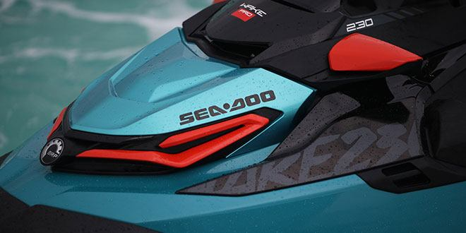 2018 Sea-Doo WAKE Pro 230 iBR in Bakersfield, California
