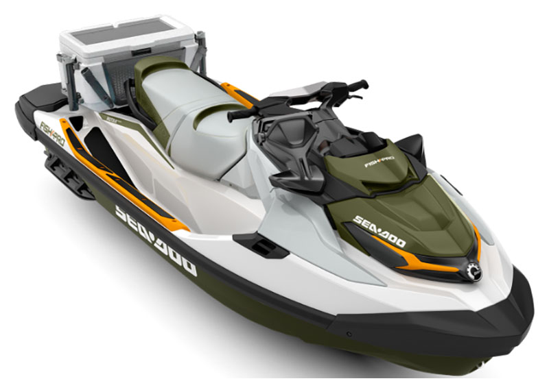 2019 Sea-Doo Fish Pro iBR in Danbury, Connecticut - Photo 1