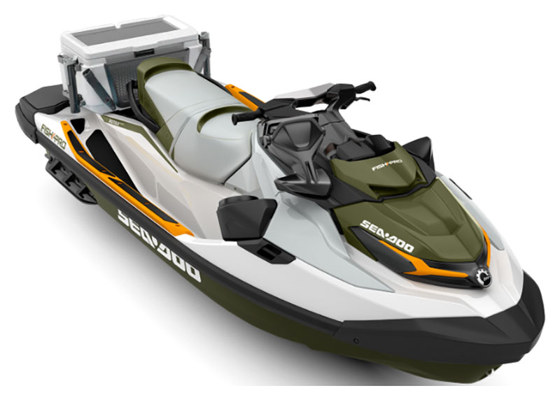 2019 Sea-Doo Fish Pro iBR + Sound System in Huron, Ohio - Photo 1