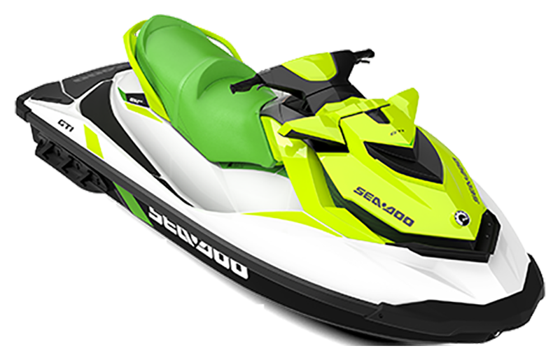 2019 Sea-Doo GTI 130 iBR in Wilmington, Illinois - Photo 1