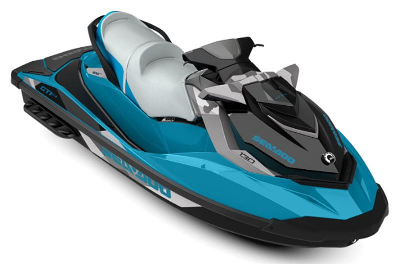2019 Sea-Doo GTI 130 SE iBR in Ponderay, Idaho - Photo 1