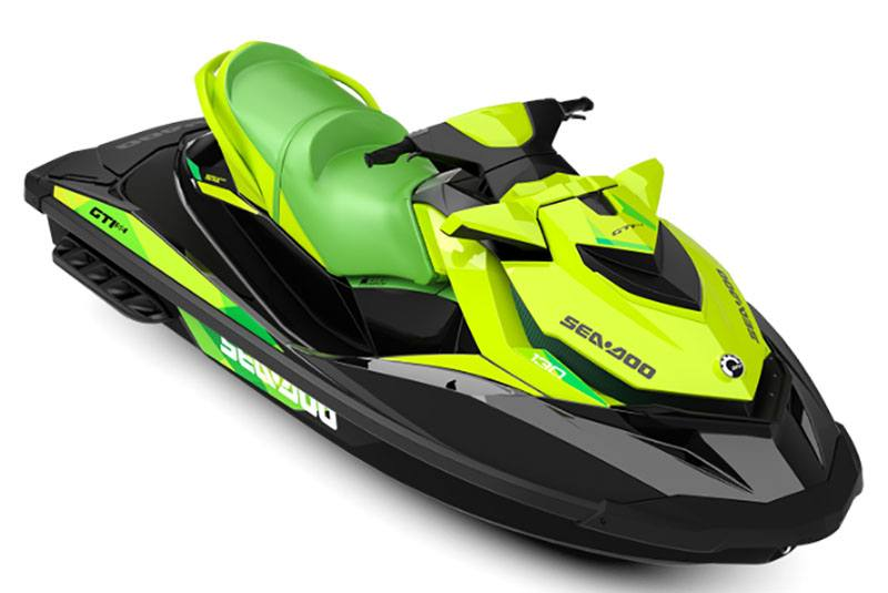 2019 Sea-Doo GTI SE 155 iBR in Santa Clara, California - Photo 1