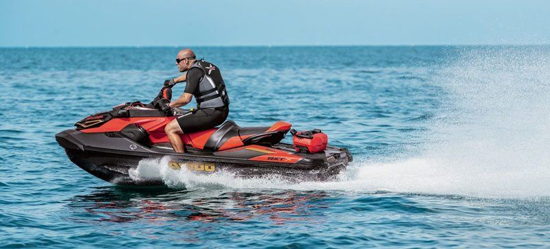 2019 Sea-Doo RXT-X 300 iBR + Sound System in Clinton Township, Michigan - Photo 5