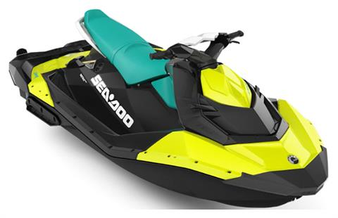 2019 Sea-Doo Spark 3up 900 H.O. ACE iBR + Convenience Package in Clinton Township, Michigan