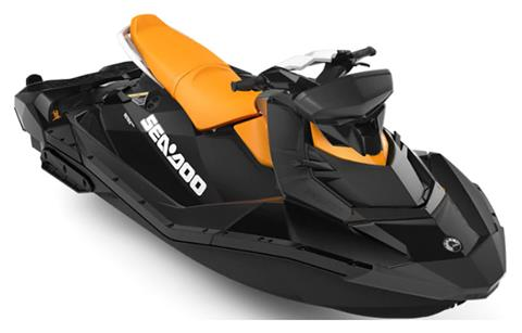 2019 Sea-Doo Spark 3up 900 H.O. ACE iBR, Convenience Package + Sound System in Logan, Utah