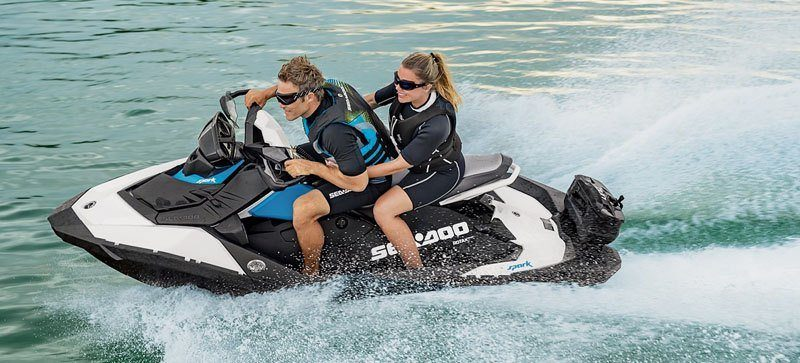 2019 Sea-Doo Spark 3up 900 H.O. ACE iBR, Convenience Package + Sound System in Minocqua, Wisconsin