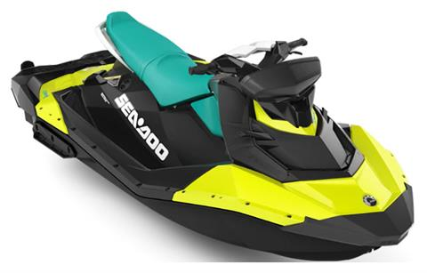 2019 Sea-Doo Spark 3up 900 H.O. ACE iBR, Convenience Package + Sound System in Dickinson, North Dakota