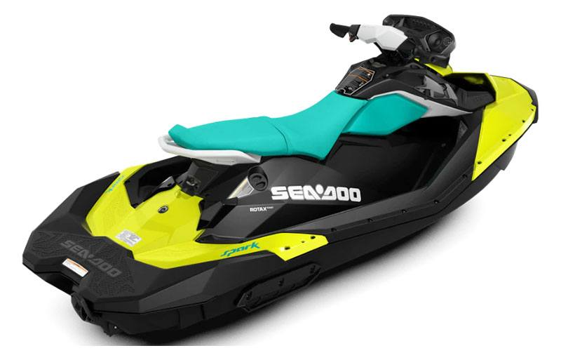 2019 Sea-Doo Spark 3up 900 H.O. ACE iBR, Convenience Package + Sound System in Leesville, Louisiana - Photo 2