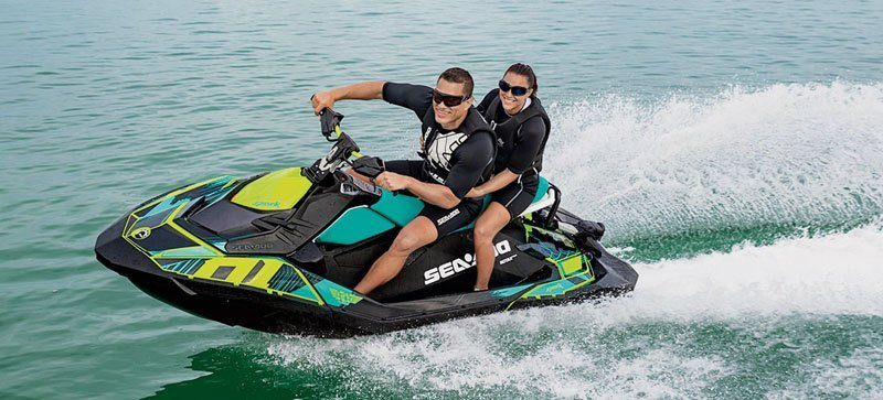 2019 Sea-Doo Spark 3up 900 H.O. ACE iBR, Convenience Package + Sound System in Lakeport, California - Photo 3
