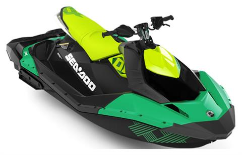 2019 Sea-Doo Spark Trixx 3up iBR in Adams, Massachusetts