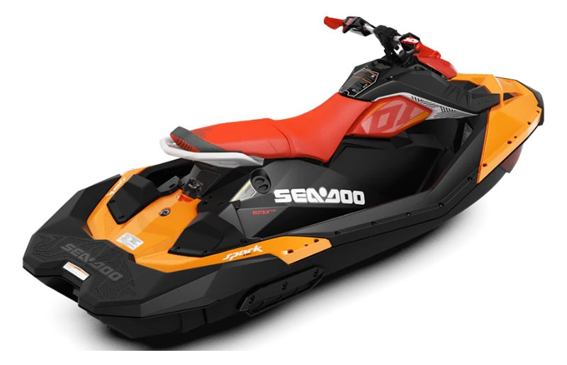 2019 Sea-Doo Spark Trixx 3up iBR in Clinton Township, Michigan - Photo 2
