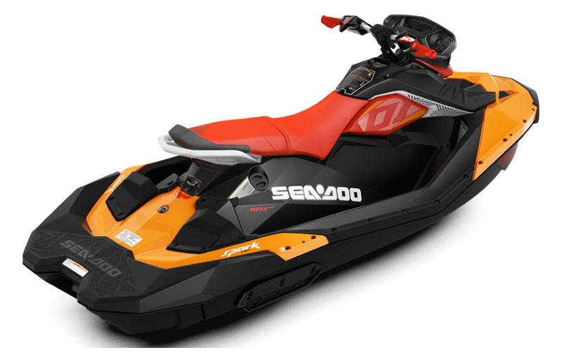 2019 Sea-Doo Spark Trixx 3up iBR + Sound System in Afton, Oklahoma