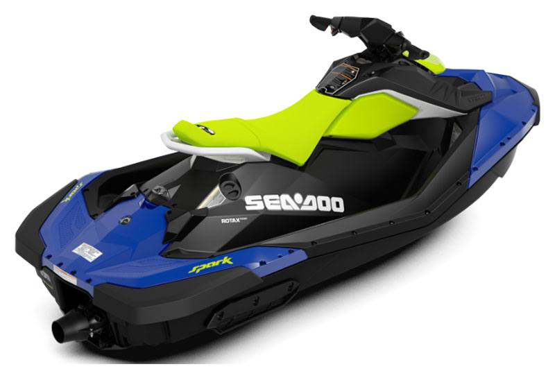 2020 Sea-Doo Spark 2up 60 hp in Wasilla, Alaska - Photo 2