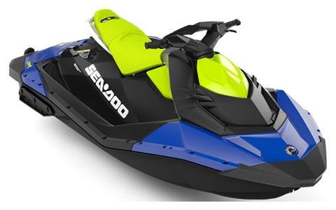 2020 Sea-Doo Spark 2up 90 hp iBR + Convenience Package in Hillman, Michigan