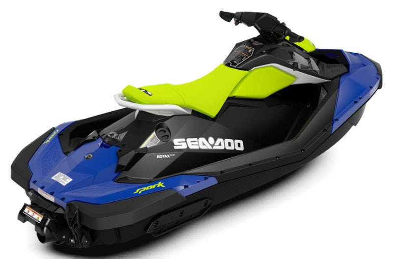 2020 Sea-Doo Spark 2up 90 hp iBR + Convenience Package in Great Falls, Montana - Photo 2
