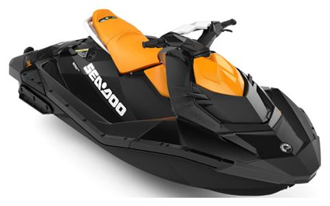 2020 Sea-Doo Spark 2up 90 hp iBR + Convenience Package in Eugene, Oregon