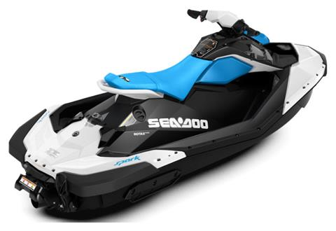 2020 Sea-Doo Spark 2up 90 hp iBR + Convenience Package in Adams, Massachusetts - Photo 2