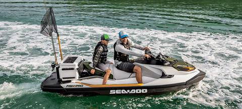 2019 Sea-Doo Fish Pro iBR + Sound System in Lancaster, New Hampshire