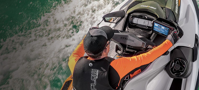 2019 Sea-Doo Fish Pro iBR + Sound System in Island Park, Idaho - Photo 9