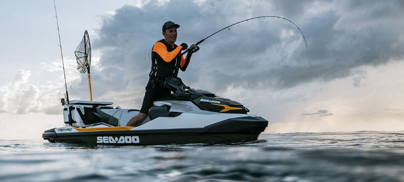 2019 Sea-Doo Fish Pro iBR + Sound System in Huron, Ohio - Photo 10