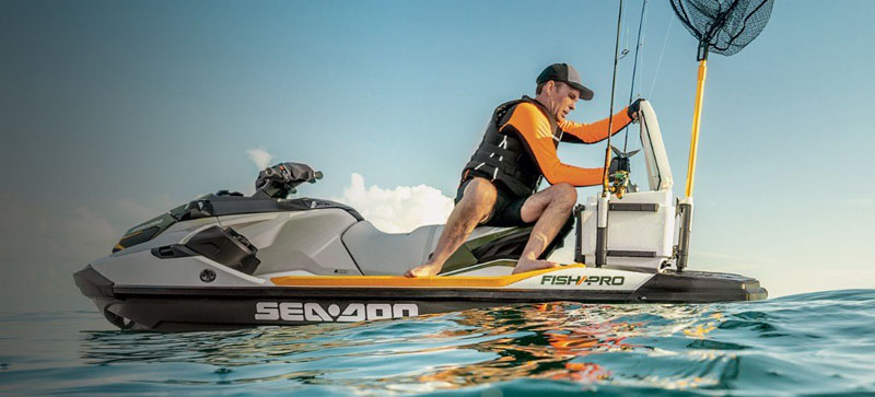 2019 Sea-Doo Fish Pro iBR + Sound System in Honesdale, Pennsylvania