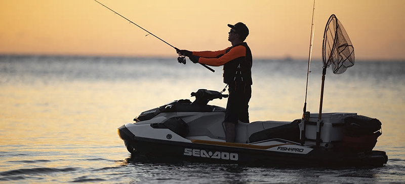 2020 Sea-Doo Fish Pro iBR + Sound System in Harrisburg, Illinois - Photo 7