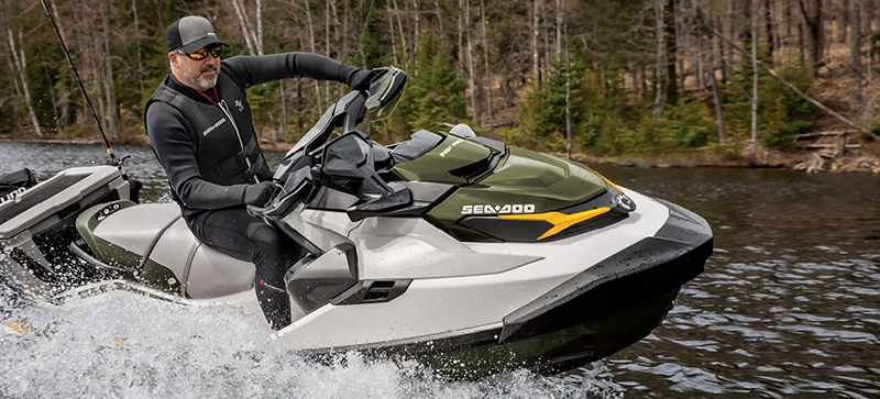 2020 Sea-Doo Fish Pro iBR + Sound System in Island Park, Idaho - Photo 8