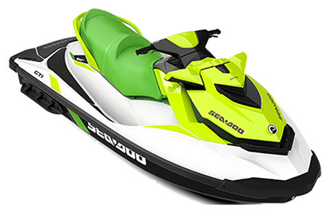 2019 Sea-Doo GTI 130 iBR in Ponderay, Idaho