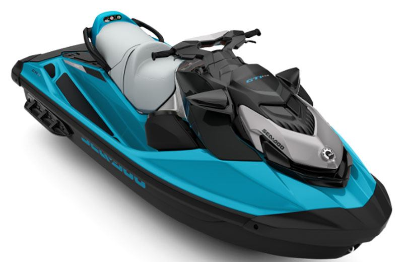 2020 Sea-Doo GTI SE 130 iBR + Sound System in Honeyville, Utah - Photo 1