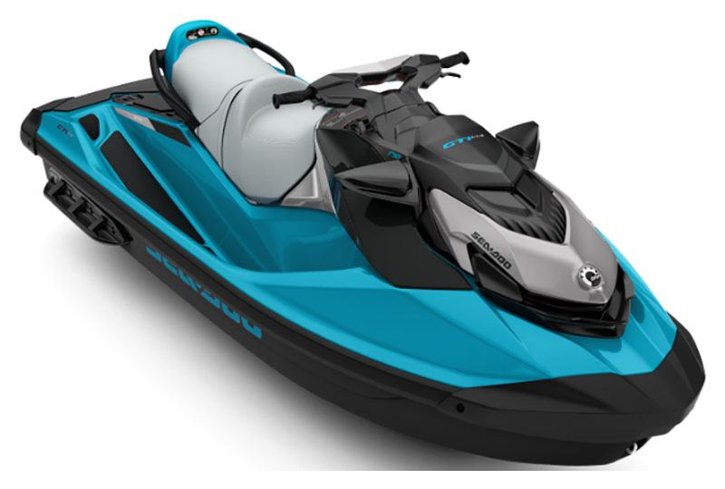 2020 Sea-Doo GTI SE 170 iBR in Clinton Township, Michigan - Photo 1