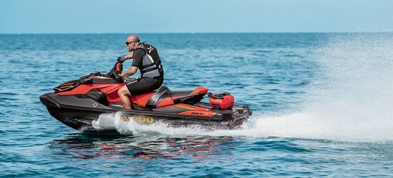 2020 Sea-Doo RXT-X 300 iBR + Sound System in Panama City, Florida - Photo 5