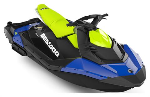 2020 Sea-Doo Spark 3up 90 hp iBR, Convenience Package + Sound System in Presque Isle, Maine
