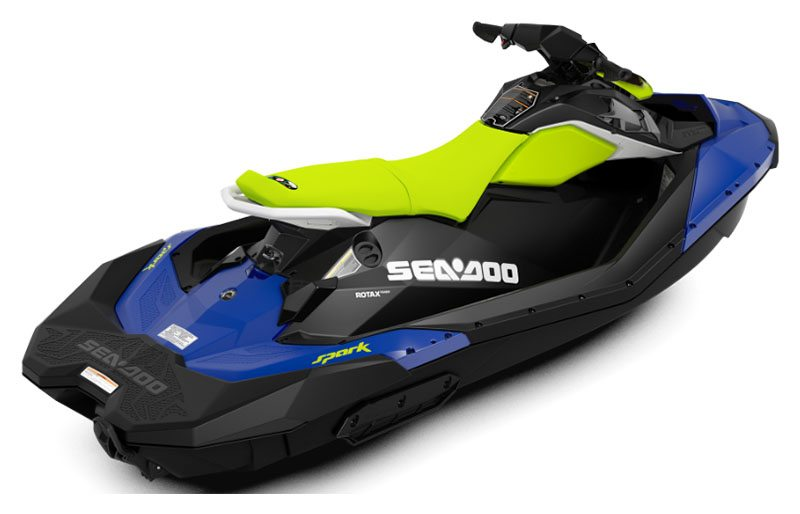 2020 Sea-Doo Spark 3up 90 hp iBR, Convenience Package + Sound System in Amarillo, Texas - Photo 2