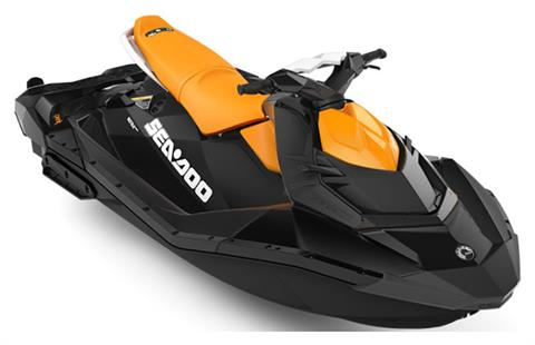 2020 Sea-Doo Spark 3up 90 hp iBR, Convenience Package + Sound System in Yakima, Washington