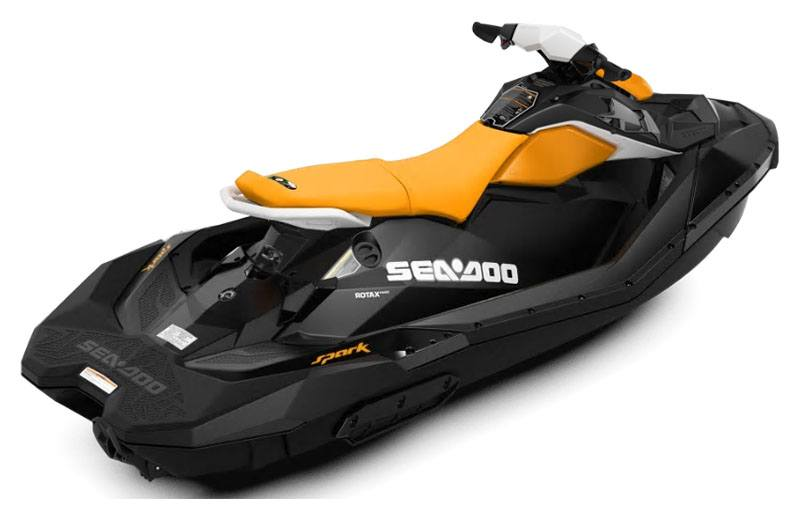 2020 Sea-Doo Spark 3up 90 hp iBR, Convenience Package + Sound System in Zulu, Indiana - Photo 2
