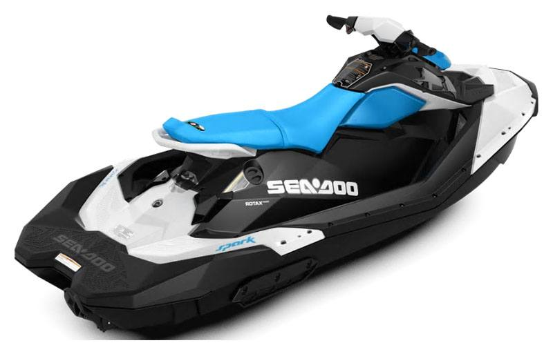 2020 Sea-Doo Spark 3up 90 hp iBR, Convenience Package + Sound System in Danbury, Connecticut - Photo 2
