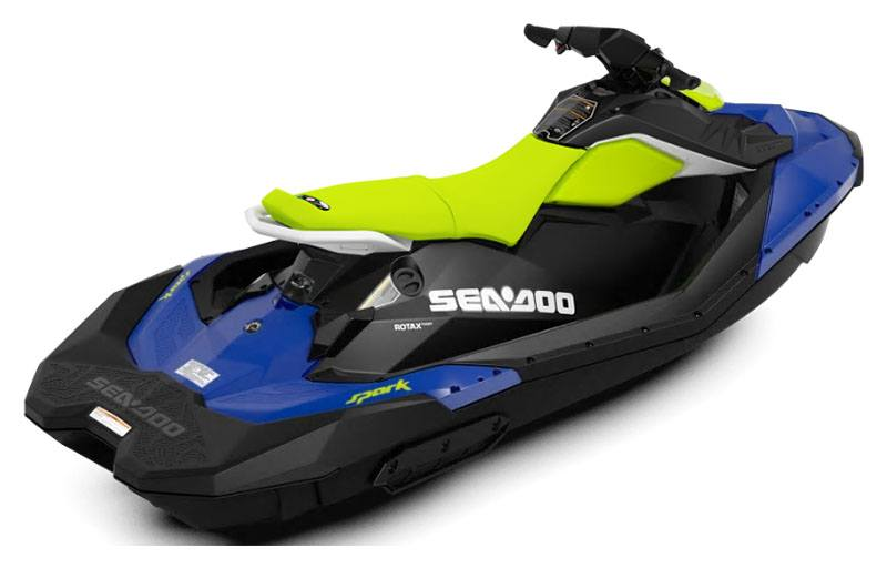 2020 Sea-Doo Spark 3up 90 hp in Moses Lake, Washington - Photo 2
